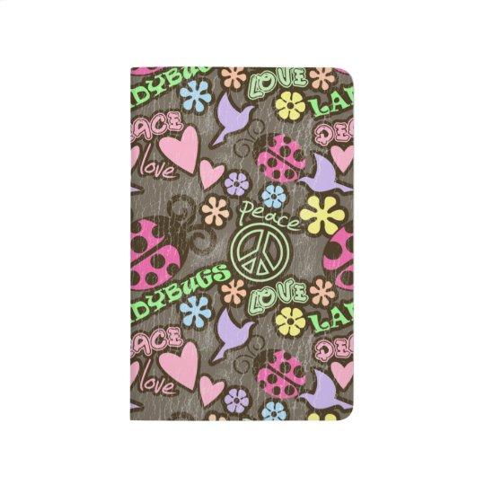 Peace, Love, Ladybugs Journals