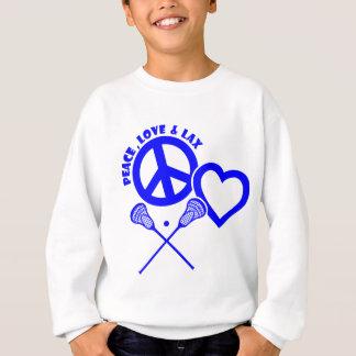 PEACE-LOVE-LAX SWEATSHIRT