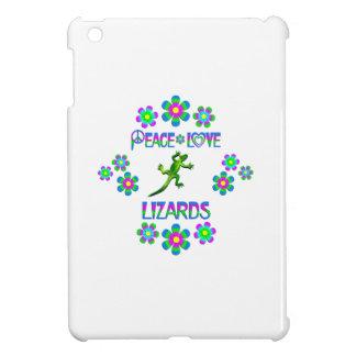 Peace Love Lizards iPad Mini Cases