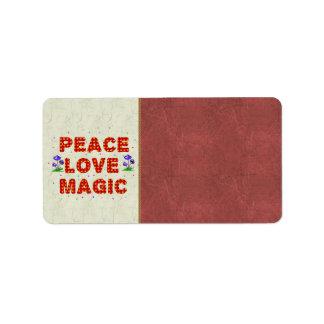 Peace Love Magic