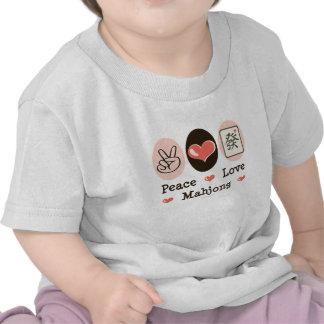 Peace Love Mahjong Infant Tee
