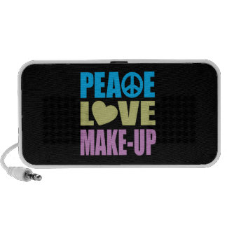 Peace Love Make-Up PC Speakers
