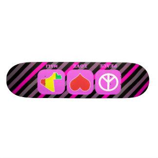 Peace Love Mali Skate Boards