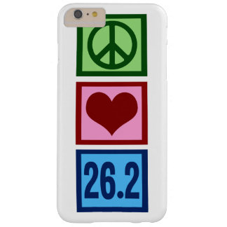 Peace Love Marathon Barely There iPhone 6 Plus Case