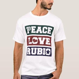 PEACE LOVE MARCO RUBIO PRESIDENT 2016 T-Shirt