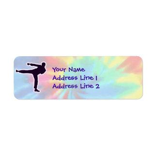 Peace, Love, Martial Arts Custom Return Address Labels