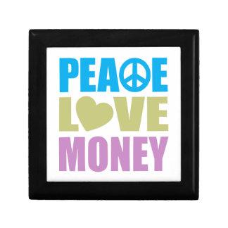 Peace Love Money Gift Box