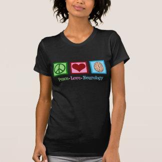 Peace Love Neurology - Neurologist T-Shirt