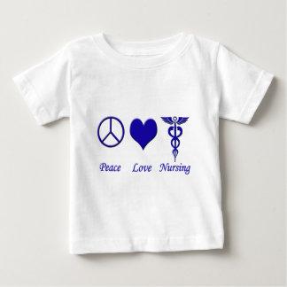 Peace Love Nursing Baby T-Shirt