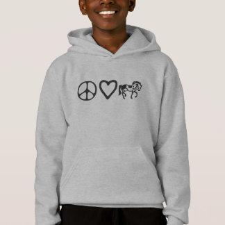 Peace Love Paints Kid's Hoodie