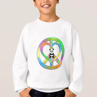 Peace Love Pandas Sweatshirt