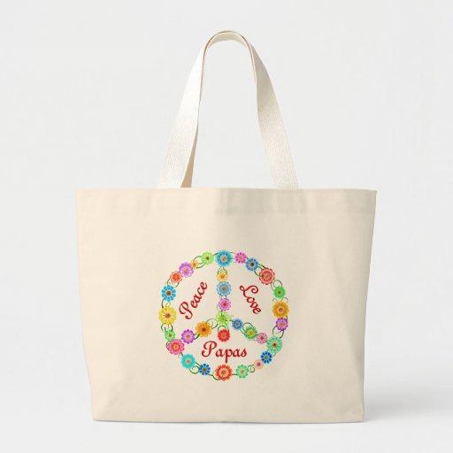 Peace Love Papas Bags