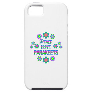 Peace Love Parakeets iPhone 5 Covers