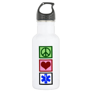 Peace Love Paramedic 532 Ml Water Bottle