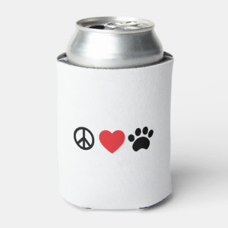 Peace, Love, Paw Can Cooler