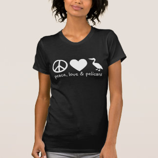 Peace, Love & Pelicans T-Shirt