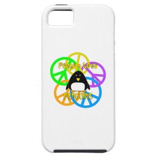 Peace Love Penguins iPhone 5 Cases