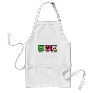 Peace Love Penguins Standard Apron