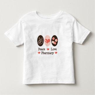 Peace Love Pharmacy Toddler T shirt