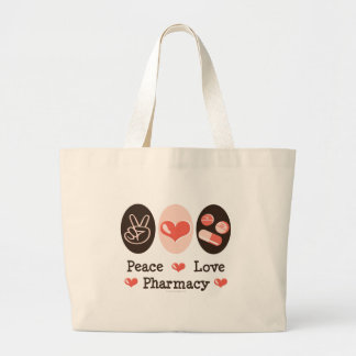 Peace Love Pharmacy Tote Bag