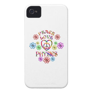 Peace Love Physics Case-Mate iPhone 4 Case