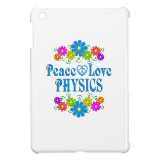Peace Love Physics iPad Mini Cover