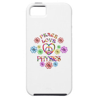 Peace Love Physics iPhone 5 Cases