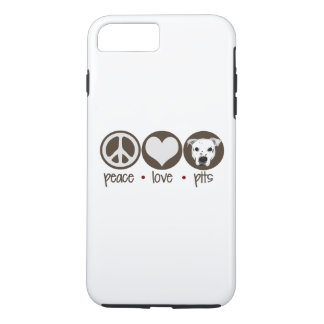 Peace Love Pits iPhone 7 Plus Case