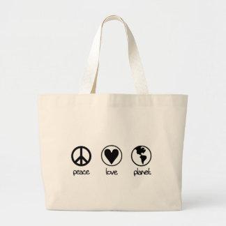 Peace Love Planet - Bag