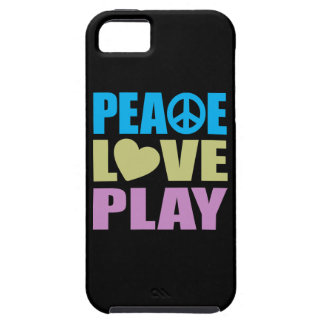 Peace Love Play iPhone 5 Cover