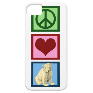 Peace Love Polar Bears iPhone 5 Covers