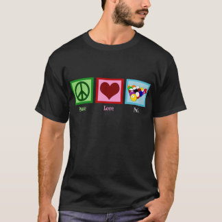 Peace Love Pool T-Shirt