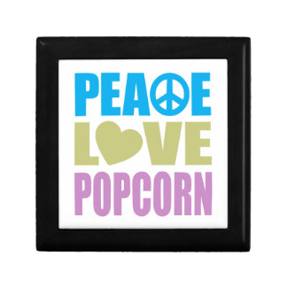 Peace Love Popcorn Gift Box