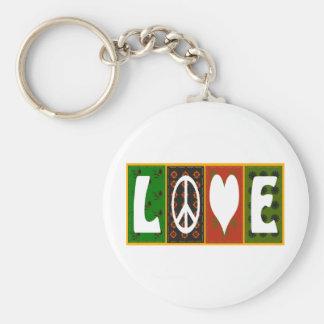 Peace-Love Porte-clé