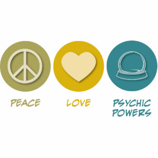 Peace Love Psychic Powers Cut Outs