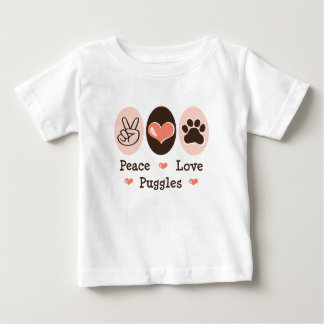 Peace Love Puggles Infant T-shirt