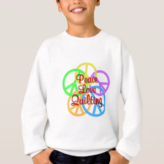 Peace Love Quilting Sweatshirt