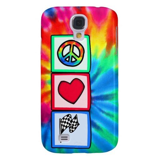 Peace, Love, Racing HTC Vivid / Raider 4G Cover