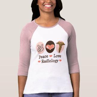 Peace Love Radiology Raglan Tee