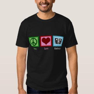 Peace Love Radiology Tee Shirt