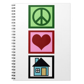 Peace Love Real Estate Notebooks