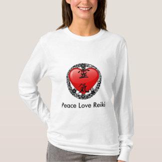 Peace Love Reiki Hoody Long Sleeve-option 2