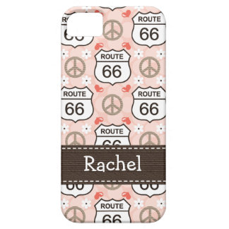 Peace Love Road Trip Route 66 iPhone 5 Case