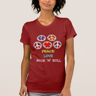PEACE, LOVE, ROCK 'N' ROLL T-Shirt