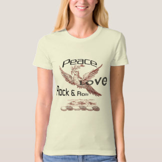 Peace Love Rock & Roll T-Shirt