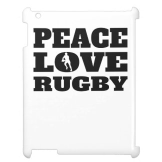 Peace Love Rugby Case For The iPad 2 3 4