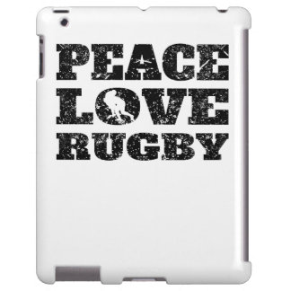 Peace Love Rugby (Distressed)