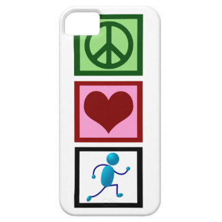 Peace Love Run iPhone 5 Cases