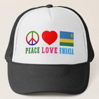 Peace Love Rwanda Trucker Hat