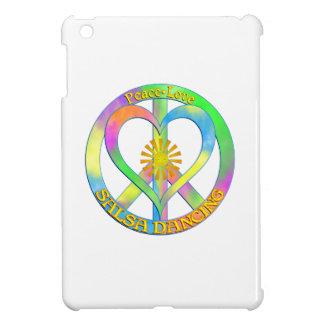 Peace Love Salsa Dancing iPad Mini Cases